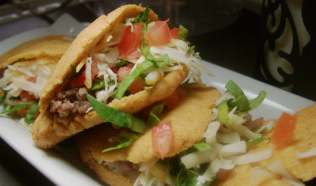 Beef And Potato Corn Gorditas