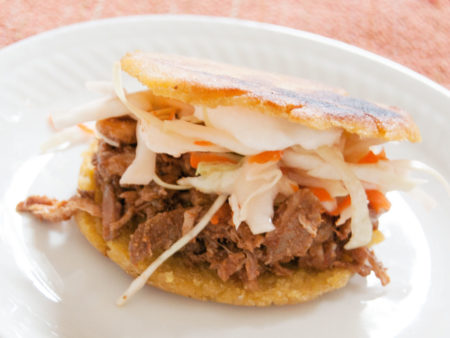 Mexican Gorditas (Fried Stuffed Corn Cakes)