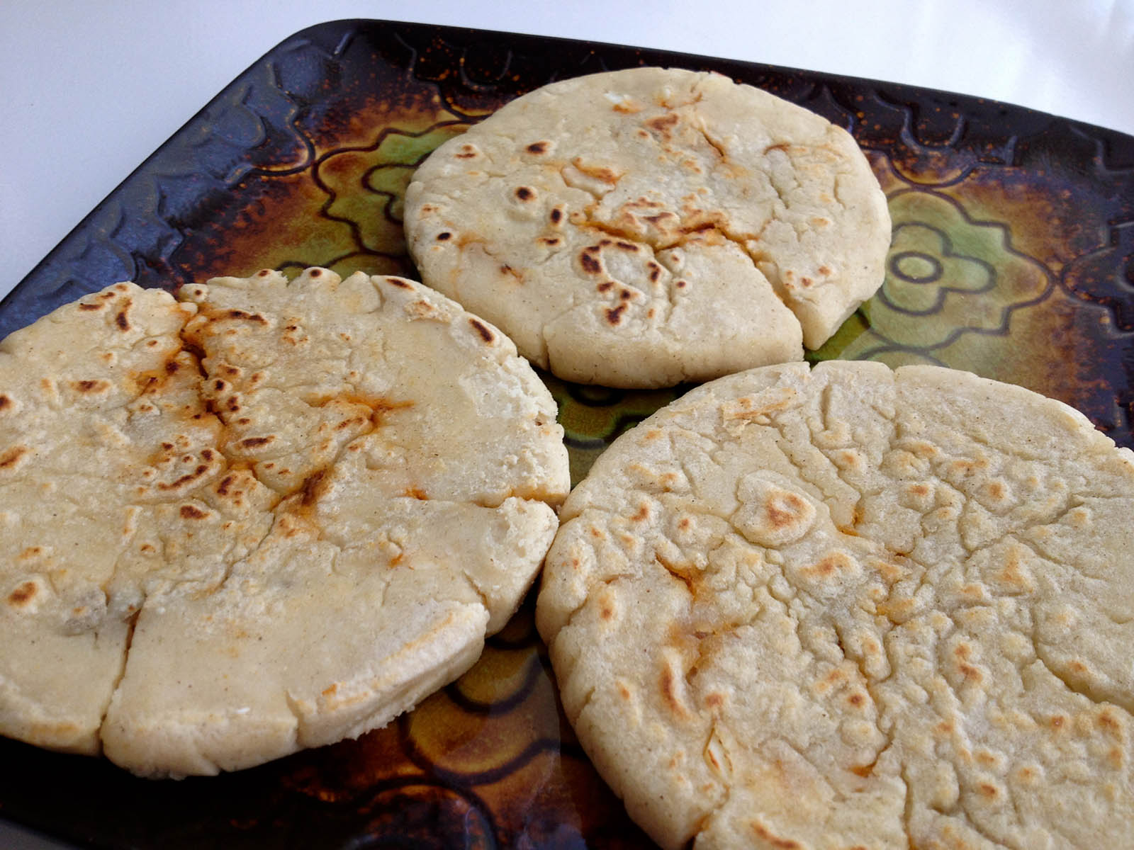 Gorditas and Pupusas