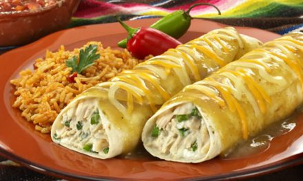 Tuna Green Chile Verde Enchiladas