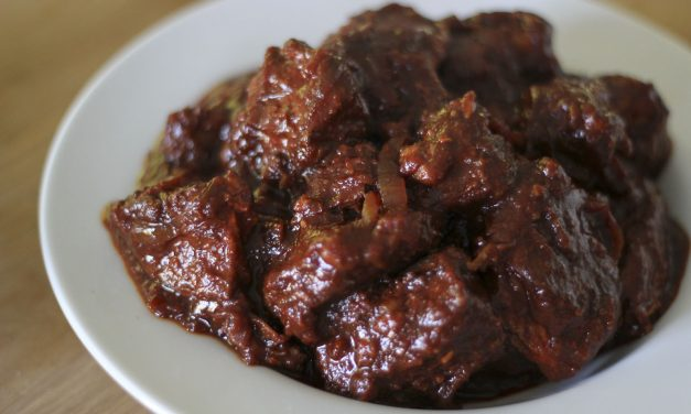 Carne Adobada – Chile-Braised Pork