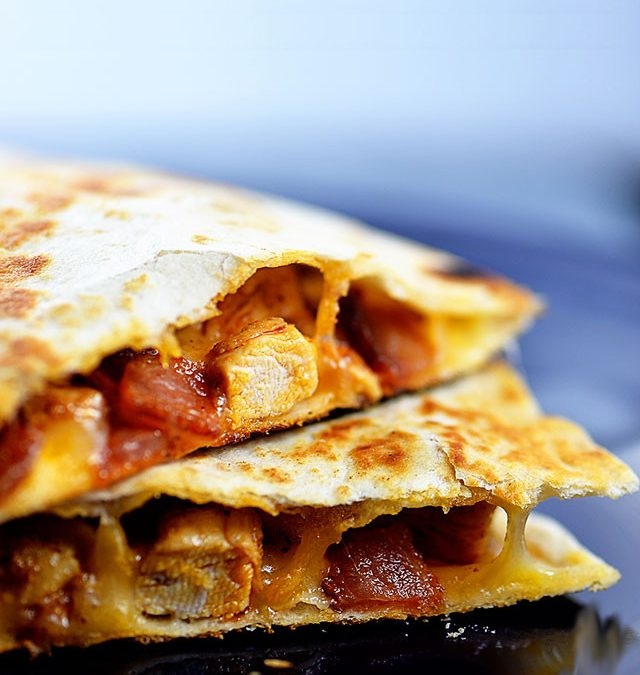 Chicken Bacon Quesadilla