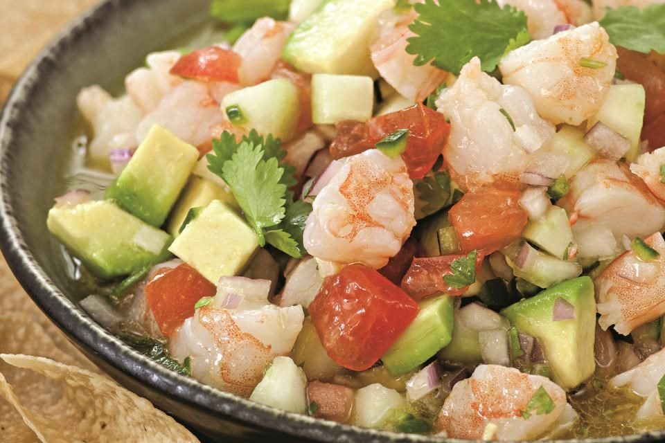 Shrimp ceviche mexipes for Shrimp and fish ceviche
