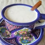 Atole mexican drinks
