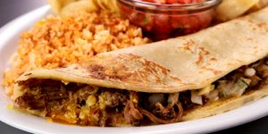 Quesadilla with Carne Asada