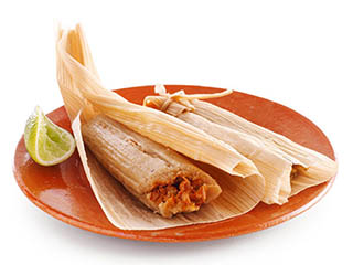 Tamales popular Mexican food