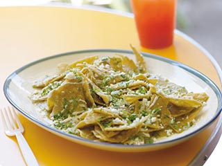 Popular Mexican Foods - Chilaquiles